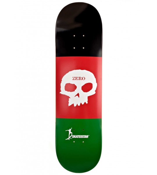 Tabla Skate ZERO Skateistan Single Skull R7 8 be989e61da0