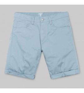 Pantalón corto Carhartt Chalk short dusty blue