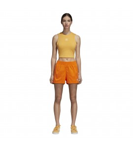 short Adidas Stripes Short naranja