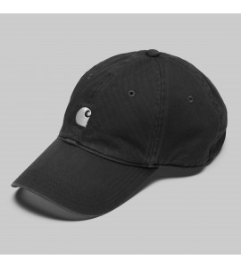 Carhartt gorra Major black color