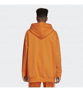 Over Trefoil Sudadera Naranja Adidas Hood aAF7Fq