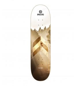 skate deck BDSKATECO Fade Away - TREES - CP Shape