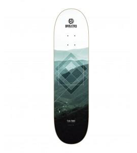 BDSKATECO skate deck Fade Away - FOREST - CP Shape