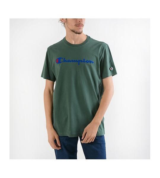 Crewneck Verde Verde Crewneck Crewneck Champion Verde Camiseta Camiseta Champion Champion Camiseta tsrxhQCd