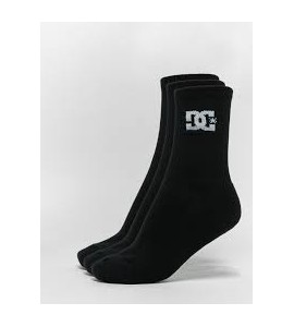 CALCETINES DC PACK 3 NEGRO
