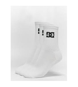 CALCETINES DC PACK 3 BLANCO