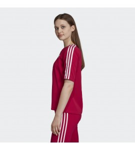 CAMISETA ADIDAS 3 STRIPES ROSA