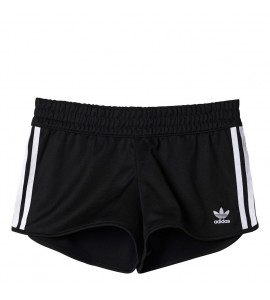 SHORT ADIDAS 3 STRIPES NEGRO