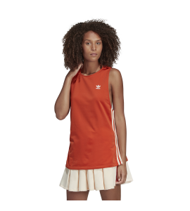 CAMISETA TIRANTES ADIDAS ELONGATED TANK NARANJA