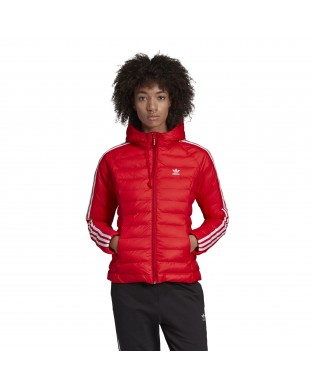 ADIDAS SLIM JACKET RED