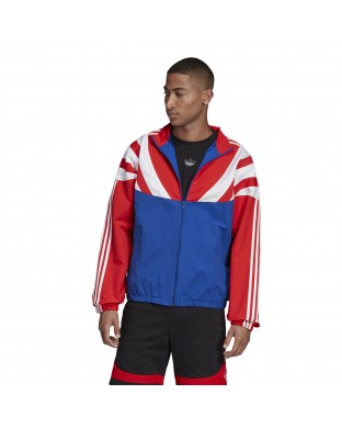 WINDBREAKER ADIDAS BLNT BLUE RED