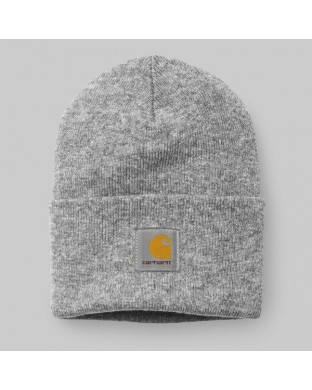 BEANIE CARHARTT ACRYLIC WATCH GREY
