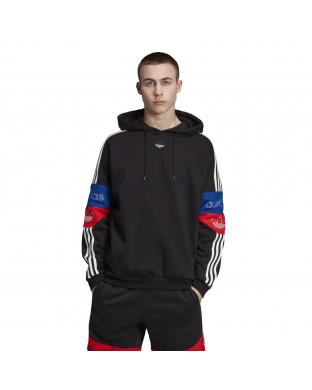 SWEATER ADIDAS TRF HOODY BLACK