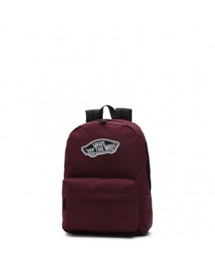 MOCHILA VANS REALM BACKPACK BURDEOS
