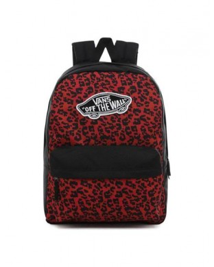 MOCHILA VANS REALM BACKPACK LEOPARDO