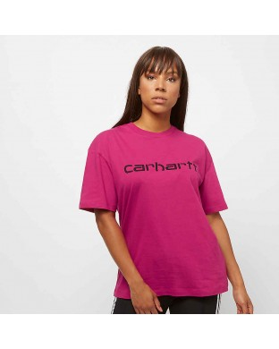 CAMISETA CARHARTT SCRIPT ROSA