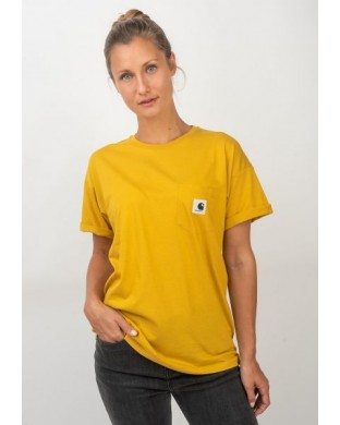 T-SHIRT CARHARTT POCKET TEE YELLOW