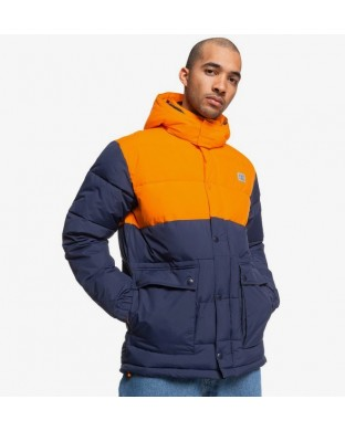 JACKET DC STRAFFEN BLUE/ORANGE
