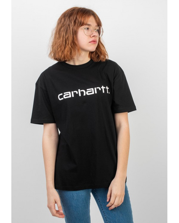 CAMISETA CARHARTT SCRIPT TEE NEGRA