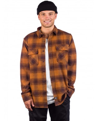CAMISA DICKIES WANETA MARRON