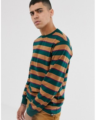 T-SHIRT LONG SLEEVE MANGA LARGA DICKIES LATONIA STRIPES