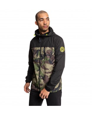 WINDBREAKER DC DAGUP PRINT BLACK