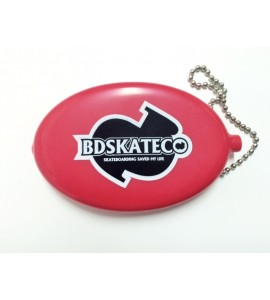 BD Coin Wallet Red