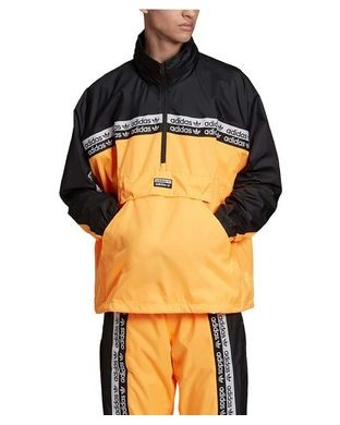 WINDBREAKER ADIDAS R.Y.V. BLKD TT ORANGE