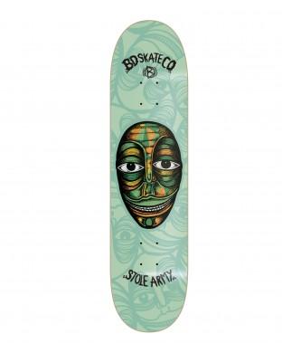 Skate deck BDSKATECO Artist S. Stole Army green