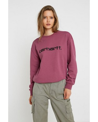 CARHARTT SWEAT DUSTY PINK