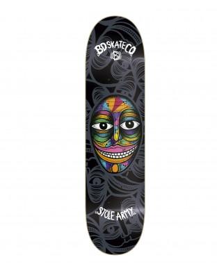skate deck BD Artist S - Stole Army - Black