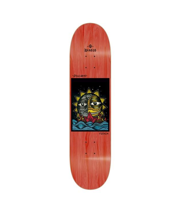 BDSKATECO skate deck Stole Army II. Libertad Blue