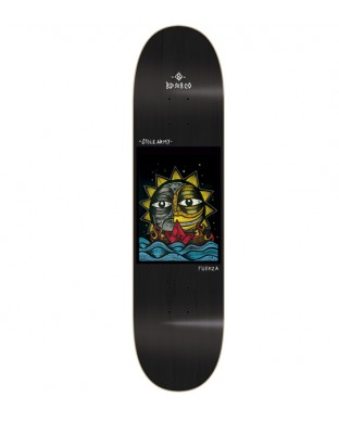 Tabla BDSKATECO Stole Army II model. Fuerza black