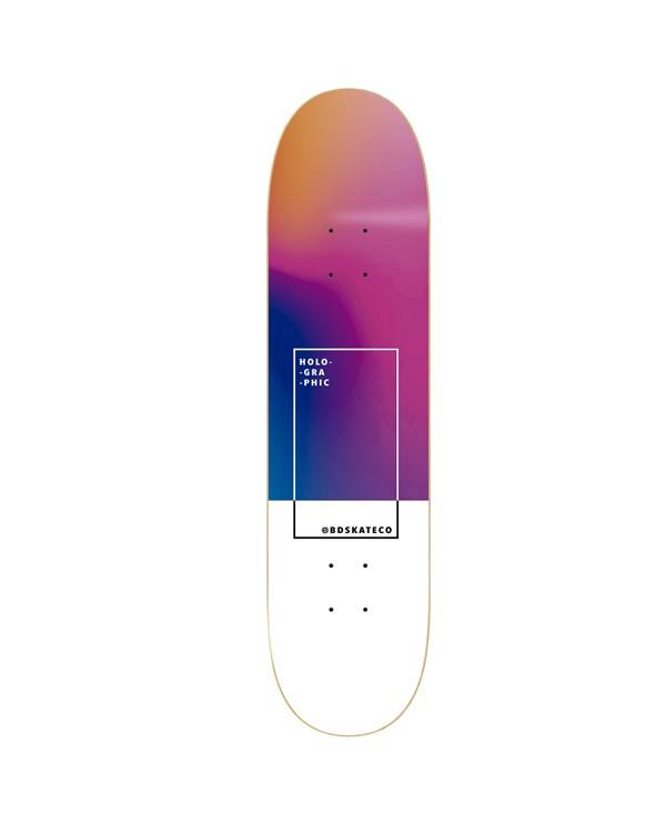 BDSKATECO deck Holographic Rainbow