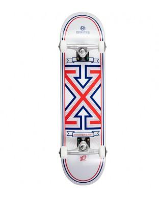Skate Completo BD  modelo X anniversary II  white 8.0