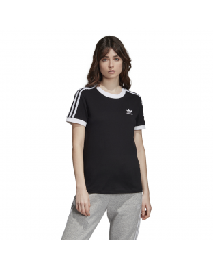 CAMISETA ADIDAS 3 STRIPES NEGRA
