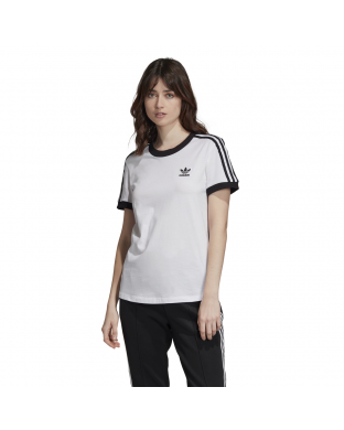 CAMISETA ADIDAS 3 STRIPES BLANCA