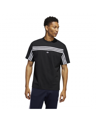 CAMISETA ADIDAS 3 STRIPES SS NEGRA