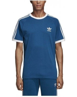 CAMISETA ADIDAS 3 STRIPES AZUL