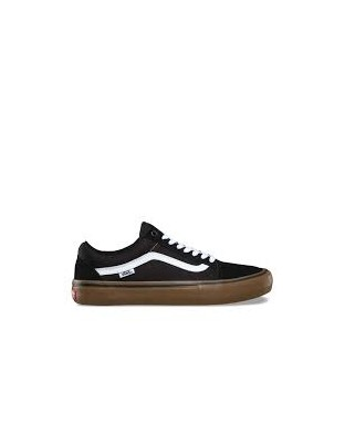 ZAPATILLAS VANS OLD SKOOL PRO NEGRO/GUM