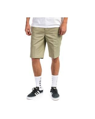 BERMUDAS DICKIES SLIM FIT WORK SHORT BEIGE