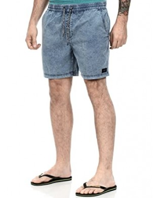 Pantalones Cortos Globe Leopold Walkshort Light Denim