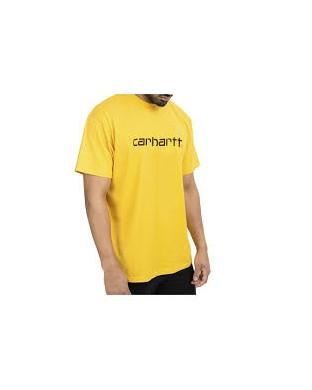 CAMISETA CARHARTT SCRIPT T-SHIRT AMARILLA