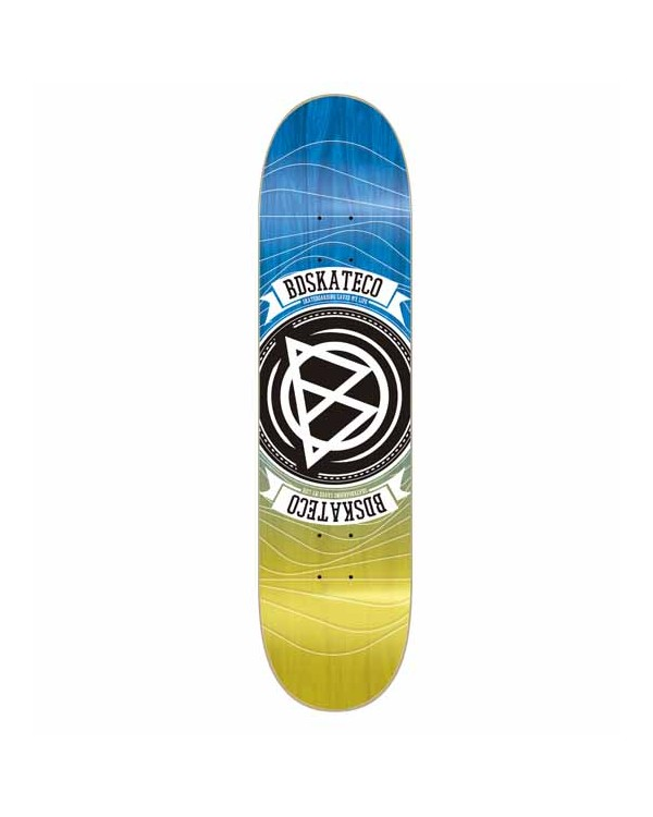 BD DECK EPOXY WAVES BLUE/YELLOW
