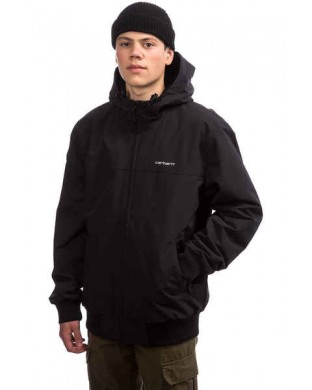 CAZADORA CARHARTT HOODED SAIL JACKET NEGRO