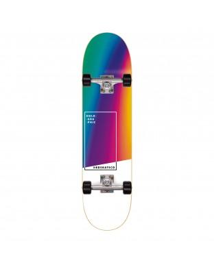 Skate Complete BDSKATECO brand.  Holographic Rainbow