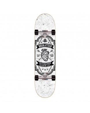 Skate Complete BDSKATECO brand - Heart White