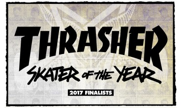 "Finalistas ""skater of the year"" Thrasher Magazine."